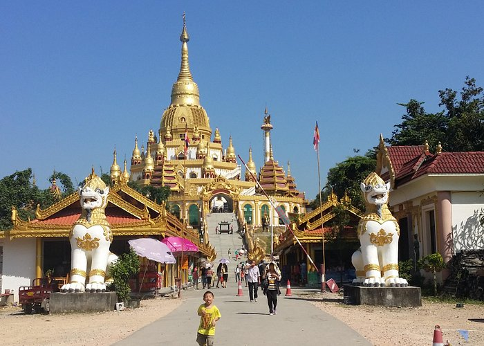 Gouden tempel Mangshi