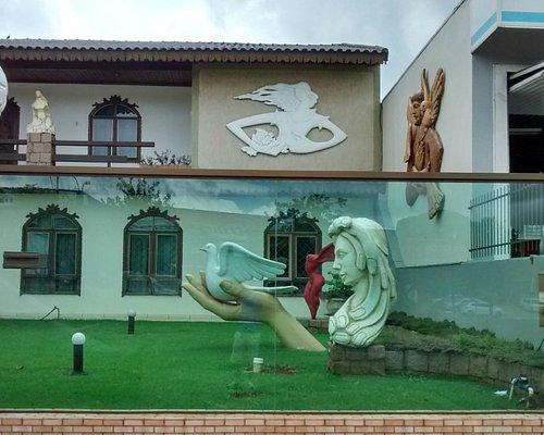 Residência do artista Cascavelense.