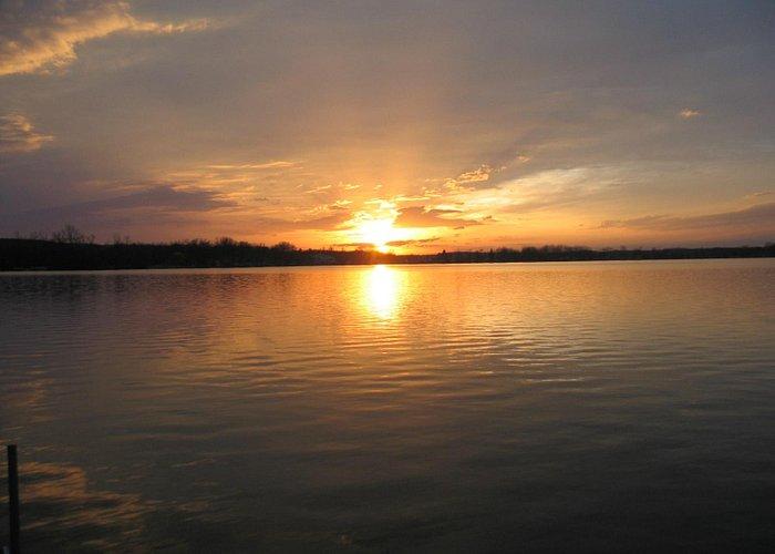 Sunset on Portage