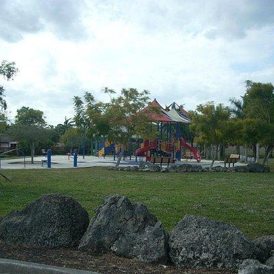 Playground and Rocks