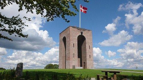 Genforeningstårnet rejst til minde om genforeningen af Nordslesvig.