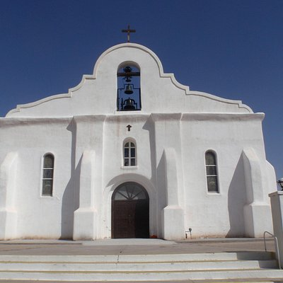San Elizario Presidio (mission)-not quite the same as the others