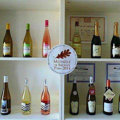 Notre gamme de vins