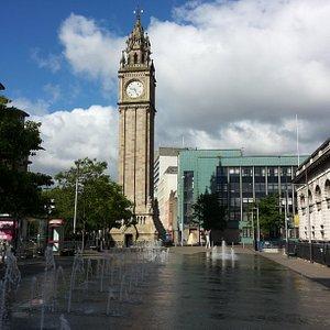 Belfast Albert Memorial Clock