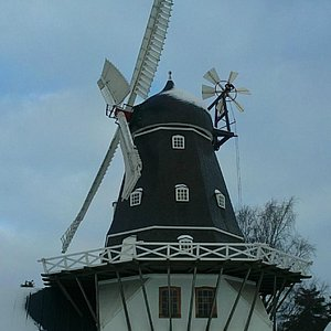 The Ringsted Windmill at Winter