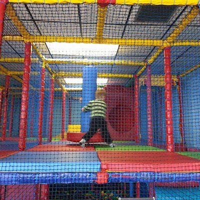 A small section of the soft play due to photos are not aloud to be taken if other peoples childr