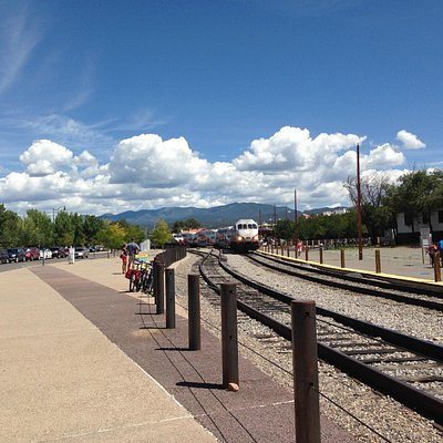View from the Railyard