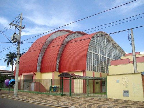 Vista Lateral do Estádio Municipal Rui Barbosa