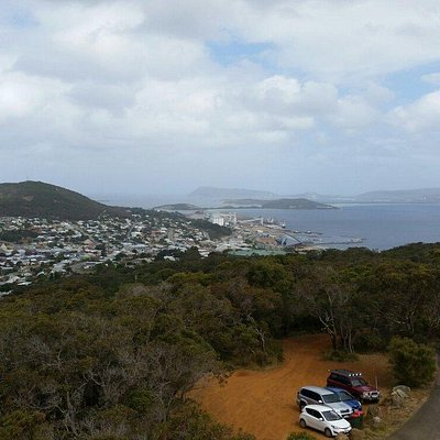 View of Albany from Mt Melville Lookout.