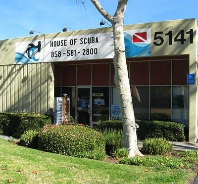 House Of Scuba Store Front
