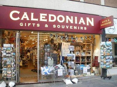 Great souvenir shop in church street