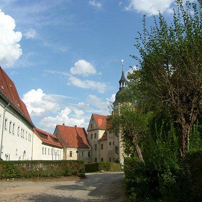 Innenhof Wohnhaus