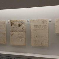 Documentos assinados pelos líderes da Inconfidência Mineira