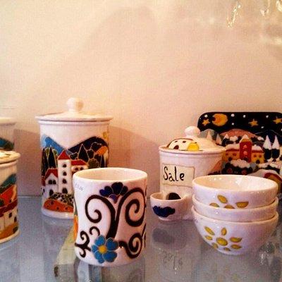 Ceramics made in Italy