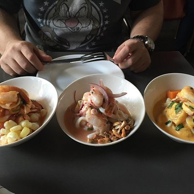 Threesome Ceviche....awesome!