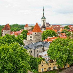 Enchanting Tallinn Medieval Old Town & Town Wall