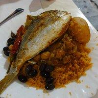 一番人気の魚クスクス