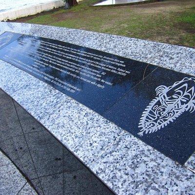Specific memorial plaques at Subic