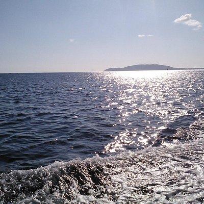 Disfrutando del mar de Fisterra