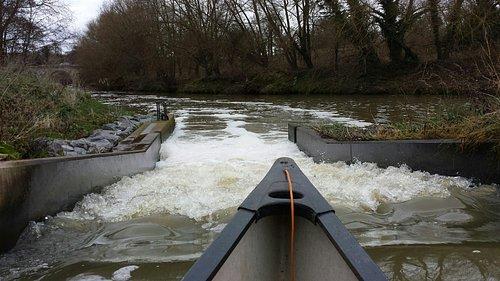 Teston canoe pass