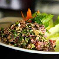 Ahi Larb Salad
