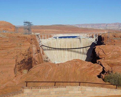 View of Glen Canyon Dam