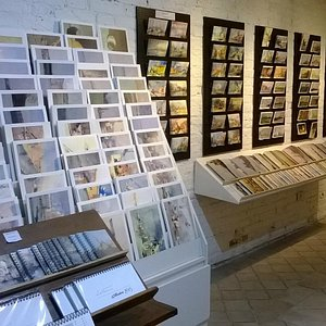 artistic prints and postcards