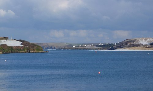 The Camel Estuary in winter, Padstow by The National Lobster Hatchery