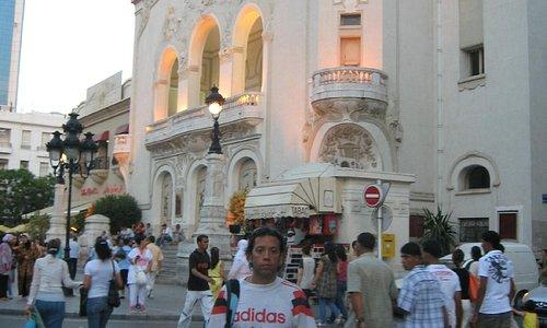 La ópera de Tunez