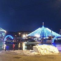 новогодняя Соборная площадь