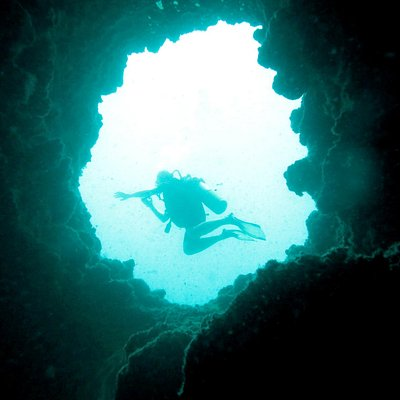 cavern exploring