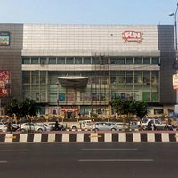 Front view of fun Republic mall