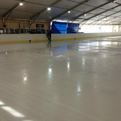 Piscina sul ghiaccio