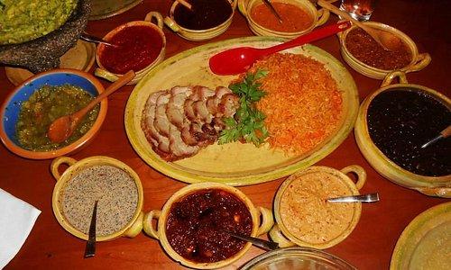 Photos from a Salsa Cooking Class.