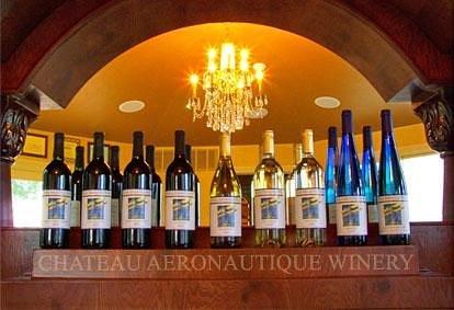 Chateau Aeronautique Winery Bottles