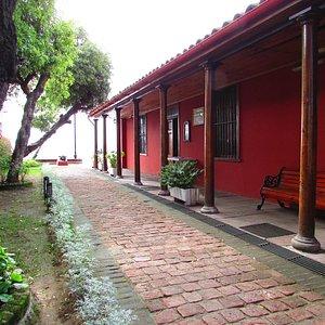 O museu fica em uma casa antiga