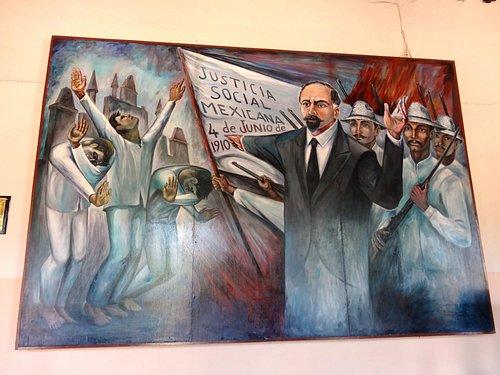 Mural at Museo de San Roque, Vallodolid