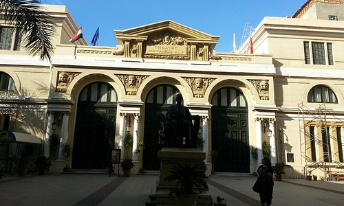 Opera house of Alexandria- Egypt