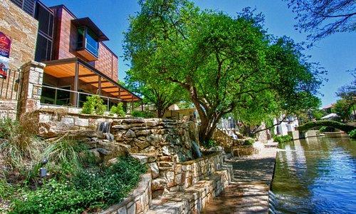 Briscoe Museum View from the San Antonio River Walk