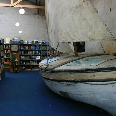 The Boat In The Bookstore