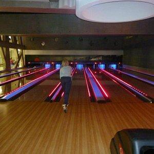 Bowling at night