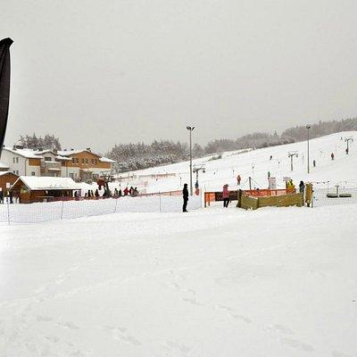 Ski Slope in Jacnia, fot. Aleksander Jakubczak