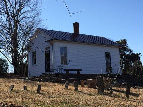 Exterior of Pest House, Lynchburg, VA