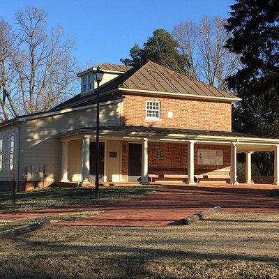 Visitor's Center for Sandusky House, Lynchburg, VA