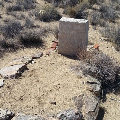 Taken March 2014 on my trip to Joshua Tree National Park. Johnny Lang's Headstone