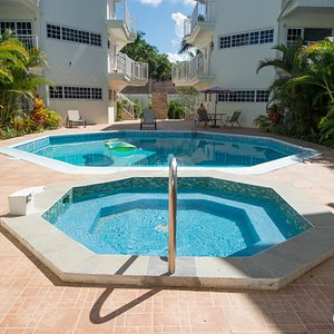 Annex Jacuzzi at the Annex Pool at the Rondel Village
