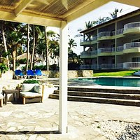 vista a la piscina del Kite Beach Hotel