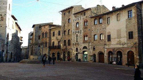 San gimignano sentrum