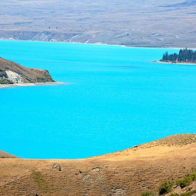 Lake Tekapo (view from Mt John)