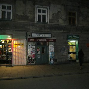 Outside of the bar
